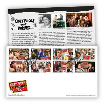 Only Fools and Horses First Day Cover (London, SE15 Postmark)