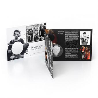 Paul McCartney In the Studio Silver Medal Cover
