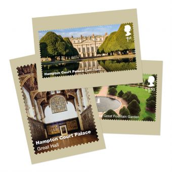 Hampton Court Postcards (Set of eleven)
