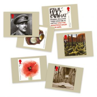 Royal Mail The First World War 1918 Presentation Pack