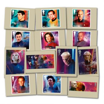 Star Trek Postcards
