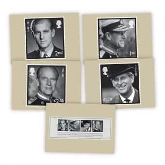 In Memoriam, HRH The Duke of Edinburgh Postcards