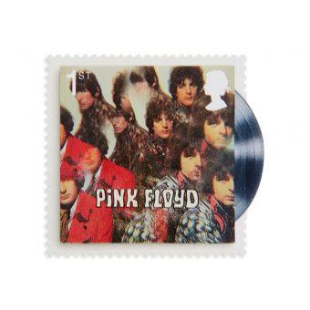Royal Mail Pink Floyd Stamp Set