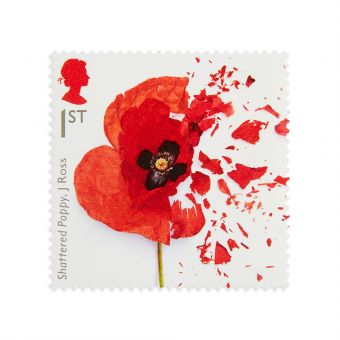 Royal Mail the First World War 1917 Stamp Set 1