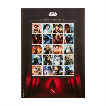 Royal Mail Star Wars Ultimate Collectors Sheet