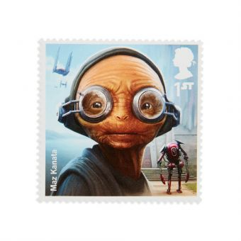 Royal Mail Star Wars Aliens Stamp Set
