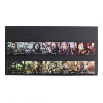 Royal Mail Game of Thrones Stamp Set