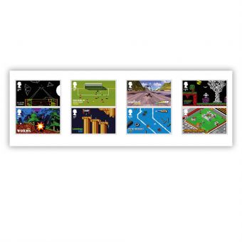 Video Games Stamp Set