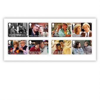 Coronation Street Stamp Set