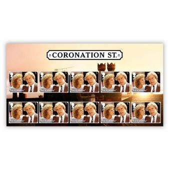 Coronation Street Character Stamp Set: Ken and Deirdre