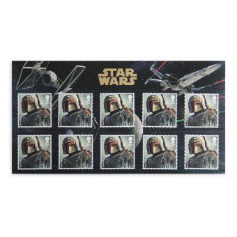 Royal Mail Star Wars 2015 Boba Fett Stamp Set