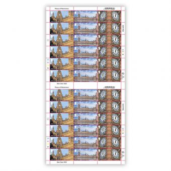 Palace of Westminster 1st Class Full Sheet x 36