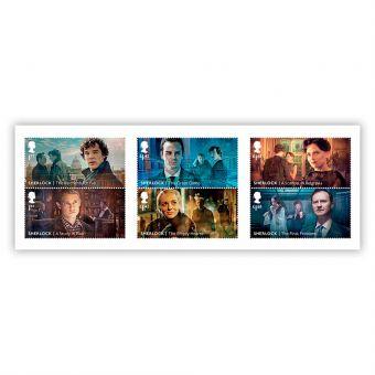 Sherlock Stamp Set