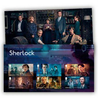 Sherlock Character Stamp Set