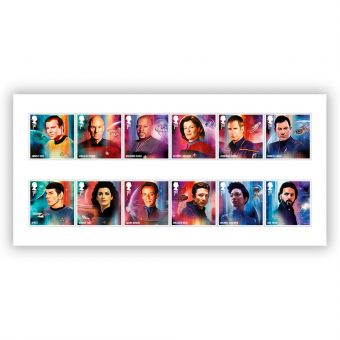 Star Trek Stamp Set