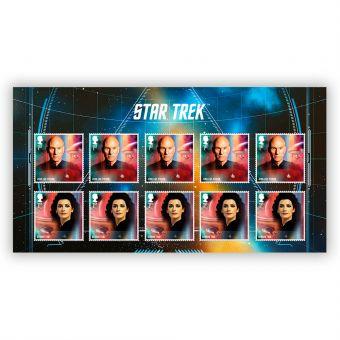 Star Trek: The Next Generation Stamp Set