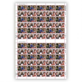 Only Fools and Horses Full Sheet 1st Class x 60 - Yuppy Love