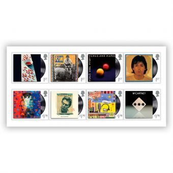 Paul McCartney Stamp Set