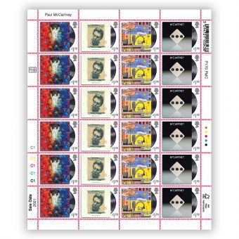 Paul McCartney Half Sheet - £1.70