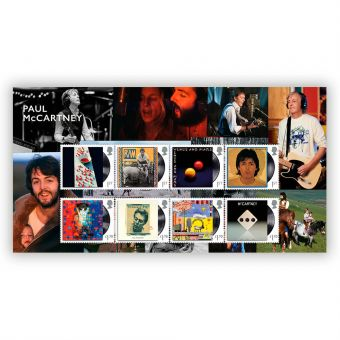 Paul McCartney Stamps Pack
