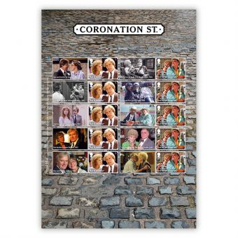 Coronation Street Collector's Sheet