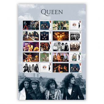 Queen Album Cover Collector's Sheet