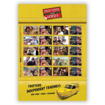 Only Fools and Horses Collectors Sheet