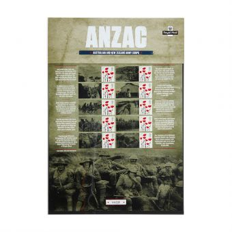 Royal Mail Commemorative Sheet Anzac 1