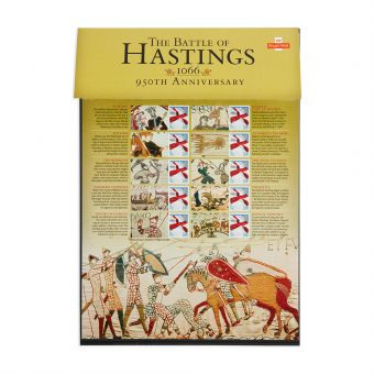 Royal Mail Commemorative Sheet Battle of Hastings 1