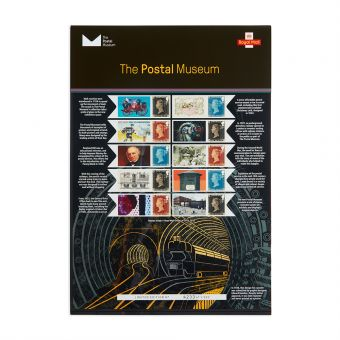 Royal Mail the Postal Museum Commemorative Sheet 1