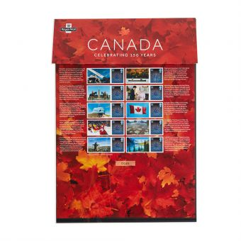 Royal Mail Celebrating Canada Commemorative Sheet 1
