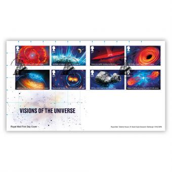 Visions of the Universe Stamp Souvenir