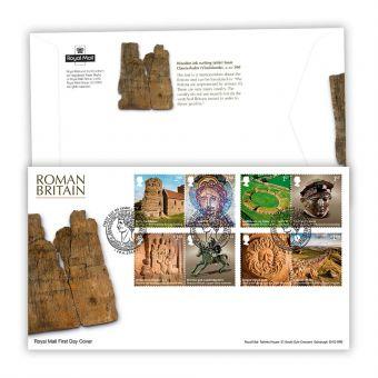 Roman Britain Stamp Souvenir