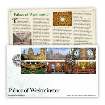 Palace of Westminster Stamp Souvenir