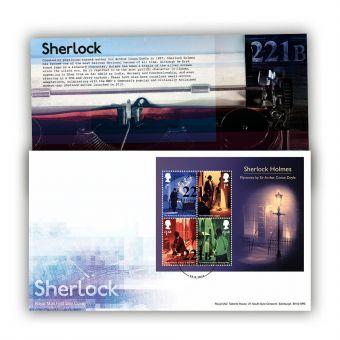 Sherlock Stamp Sheet Souvenir