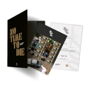 James Bond No Time To Die Souvenir Folder