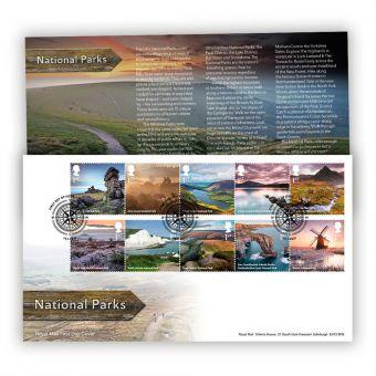 National Parks Stamp Souvenir