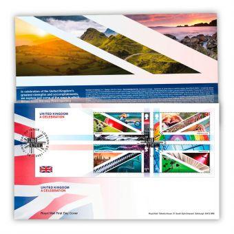 United Kingdom: A Celebration Stamp Sheet Souvenir