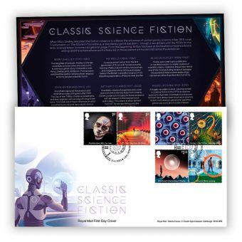 Classic Science Fiction Stamp Souvenir