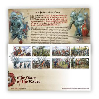 The Wars of the Roses Stamp Souvenir