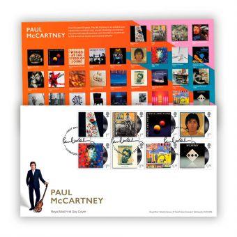 Paul McCartney Stamp Souvenir