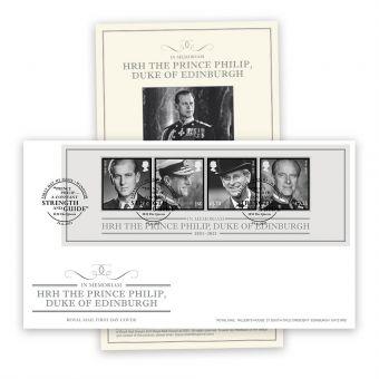 In Memoriam, HRH The Duke of Edinburgh Stamp Sheet Souvenir