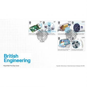 British Engineering Stamp Souvenir