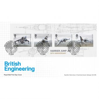 British Engineering Miniature Sheet Souvenir