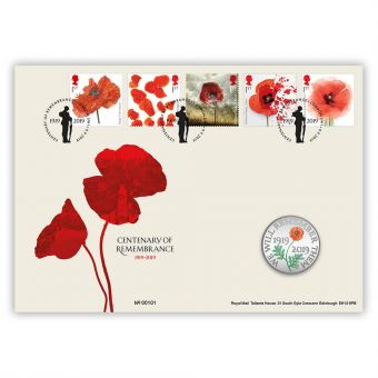 Centenary of Remembrance Coin Cover