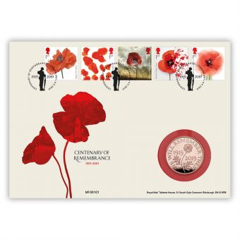 Centenary of Remembrance Gold Coin Cover