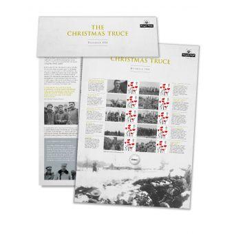 1914 Christmas Truce Commemorative Sheet