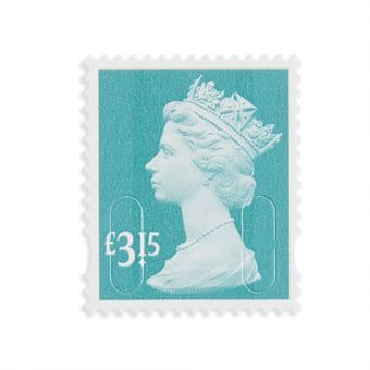 Royal Mail 25 X 3.15 Stamp Sheet