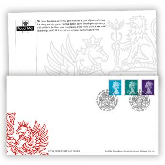 2021 Machin Definitives First Day Cover with Tallents House Postmark