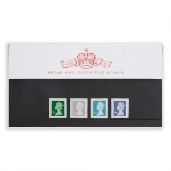 Royal Mail Machin Definitive 2018 Presentation Pack